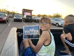 Jason Neal attended Drive-in-movie Experience: Onward - 7: 10 PM Showing on May 21st 2020 via VetTix