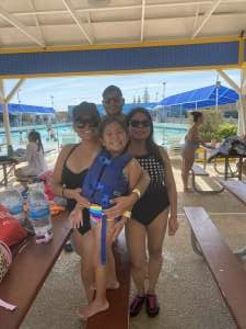 Janice attended Golfland Sunsplash - Single Day Water Park Admission on May 29th 2020 via VetTix