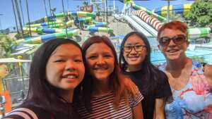 Maureen attended Golfland Sunsplash - Single Day Water Park Admission on May 29th 2020 via VetTix