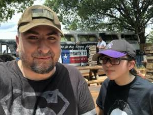 Maycotte attended Texas T*******e Festival on Aug 1st 2020 via VetTix