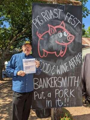Michael R attended Fredericksburg Food & Wine Festival on Jun 13th 2020 via VetTix