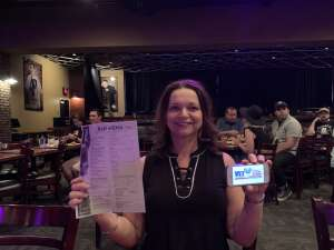 Judy  attended Brad Williams @ Stand Up Live on Jun 6th 2020 via VetTix