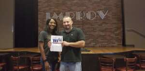 Chimeria attended Houston Improv on Jun 18th 2020 via VetTix