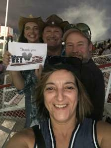 Lat Bowen III attended Tucson Speedway - Roasted Rattler on Aug 1st 2020 via VetTix