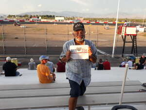 Miguel  attended Tucson Speedway - Roasted Rattler on Aug 1st 2020 via VetTix