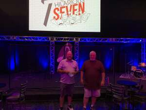 John Patterson attended The Hilarious 7 on Jul 9th 2020 via VetTix