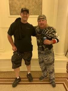 Jason Wilson attended Mad Hatter Comedy Shows - Donnie Baker on Jul 17th 2020 via VetTix