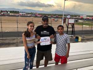 Miguel  attended Tucson Speedway - Coors Silver Bullet on Aug 29th 2020 via VetTix