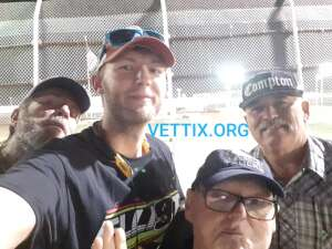 Kyle C. attended Tucson Speedway - Coors Silver Bullet on Aug 29th 2020 via VetTix