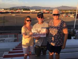 Ron Packman attended Tucson Speedway - Hot Shot 50 on Sep 5th 2020 via VetTix
