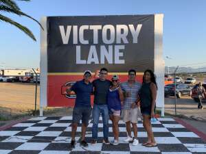 Celeste  attended Tucson Speedway - Hot Shot 50 on Sep 5th 2020 via VetTix
