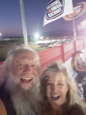 Marilyn attended Tucson Speedway - Hot Shot 50 on Sep 5th 2020 via VetTix