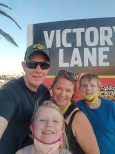 Dave attended Tucson Speedway - Hot Shot 50 on Sep 5th 2020 via VetTix