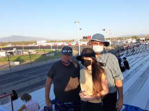 Bill  attended Tucson Speedway - Hot Shot 50 on Sep 5th 2020 via VetTix