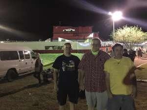 Chuck attended Tucson Speedway - Roadrunner on Sep 19th 2020 via VetTix