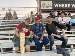 Robin M. attended Tucson Speedway - Roadrunner on Sep 19th 2020 via VetTix