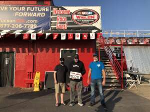 Click To Read More Feedback from Tucson Speedway - Roadrunner