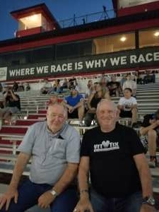 Sunny attended Tucson Speedway - Roadrunner on Sep 19th 2020 via VetTix