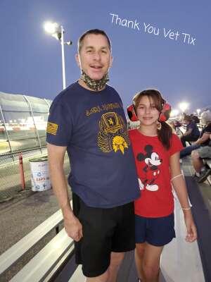 Mark attended Tucson Speedway - Roadrunner on Sep 19th 2020 via VetTix
