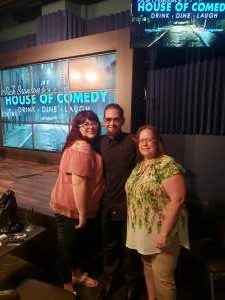 Ashley  attended Rick Bronson's House of Comedy on Jul 10th 2020 via VetTix