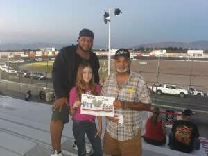 Miguel attended Tucson Speedway - Grand Finale on Oct 31st 2020 via VetTix