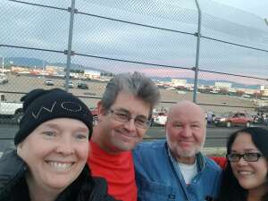 Cliff attended Tucson Speedway - Grand Finale on Oct 31st 2020 via VetTix