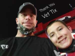 Mark attended Tucson Speedway - Grand Finale on Oct 31st 2020 via VetTix
