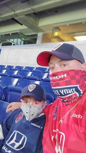 Robert H. attended Indy Eleven vs. Saint Louis FC - USL Championship on Jul 11th 2020 via VetTix