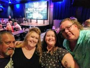Melissa attended Rick Bronson's House of Comedy on Aug 8th 2020 via VetTix