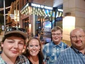MAJ M attended Rick Bronson's House of Comedy on Aug 8th 2020 via VetTix