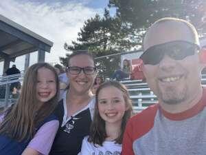 King attended Western Nebraska Pioneers vs Hastings Sodbusters - MiLB on Jul 20th 2020 via VetTix