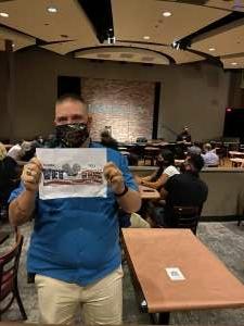 Jld2725 attended Houston Improv on Jul 18th 2020 via VetTix