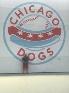 Josh attended Chicago Dogs vs. Milwaukee Milkmen - MiLB on Jul 24th 2020 via VetTix