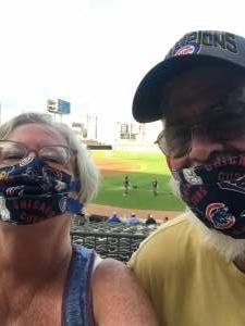 Dave attended Chicago Dogs vs Milwaukee Milkmen - MiLB on Jul 26th 2020 via VetTix