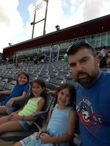 John attended Chicago Dogs vs Milwaukee Milkmen - MiLB on Jul 26th 2020 via VetTix