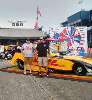 Ken Ruskaup attended Amalie Motor Oil NHRA Gatornationals - Sunday on Sep 27th 2020 via VetTix