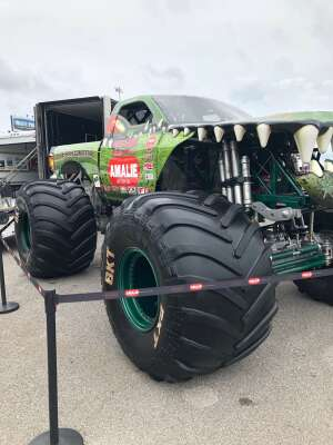 Caldwell Family attended Amalie Motor Oil NHRA Gatornationals - Sunday on Sep 27th 2020 via VetTix