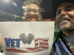 Otero family  attended Casting Crowns Only Jesus Tour on Oct 8th 2021 via VetTix