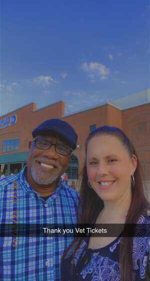 SSG Ret. Michael Brown  attended Casting Crowns Only Jesus Tour on Oct 8th 2021 via VetTix