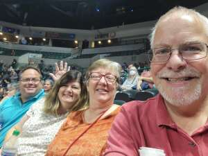 Al Saunders  attended Casting Crowns Only Jesus Tour on Oct 8th 2021 via VetTix