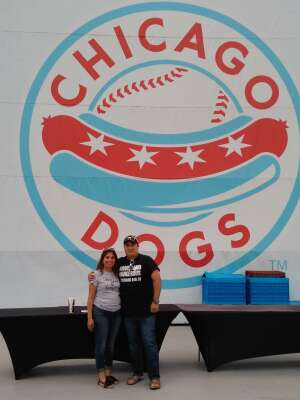 Davy G.  attended Chicago Dogs vs Winnipeg Goldeyes - MiLB on Jul 30th 2020 via VetTix