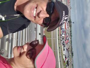 C Neitzel attended The Gateway 200 Powered by Ck Power NASCAR Truck Series and the Bommarito Automotive Group 500 Indycar Race - Auto Racing on Aug 30th 2020 via VetTix