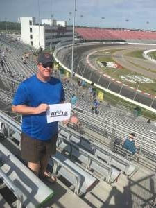 Jason Imig attended The Gateway 200 Powered by Ck Power NASCAR Truck Series and the Bommarito Automotive Group 500 Indycar Race - Auto Racing on Aug 30th 2020 via VetTix