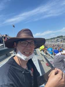 Brent attended The Gateway 200 Powered by Ck Power NASCAR Truck Series and the Bommarito Automotive Group 500 Indycar Race - Auto Racing on Aug 30th 2020 via VetTix