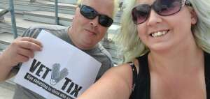 Shawn attended The Gateway 200 Powered by Ck Power NASCAR Truck Series and the Bommarito Automotive Group 500 Indycar Race - Auto Racing on Aug 30th 2020 via VetTix