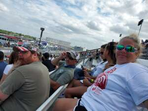 Bob attended The Gateway 200 Powered by Ck Power NASCAR Truck Series and the Bommarito Automotive Group 500 Indycar Race - Auto Racing on Aug 30th 2020 via VetTix
