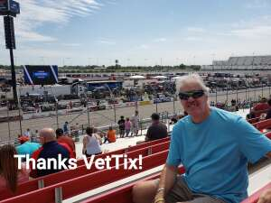 Duane attended The Gateway 200 Powered by Ck Power NASCAR Truck Series and the Bommarito Automotive Group 500 Indycar Race - Auto Racing on Aug 30th 2020 via VetTix