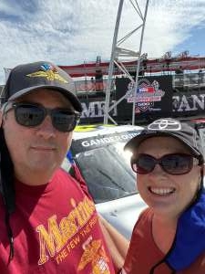 David Z attended The Gateway 200 Powered by Ck Power NASCAR Truck Series and the Bommarito Automotive Group 500 Indycar Race - Auto Racing on Aug 30th 2020 via VetTix