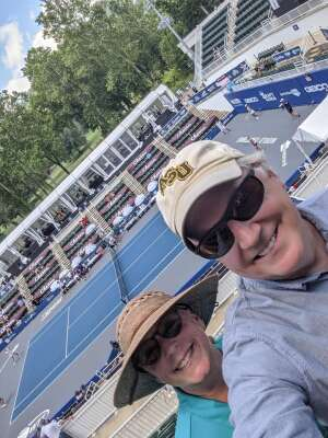 Cameron attended World Team Tennis - All Day Pass on Jul 25th 2020 via VetTix