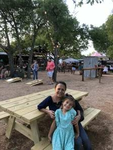 Harris family attended The Best of Texas Food and Wine Balloon Weekend on Sep 12th 2020 via VetTix